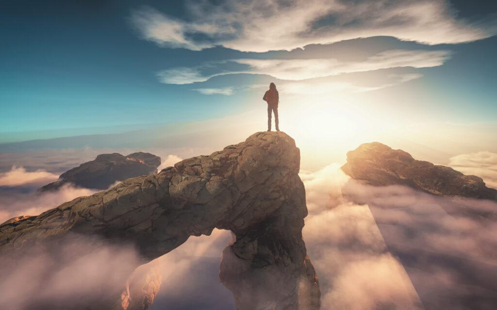 In balance, mentaal welzijn